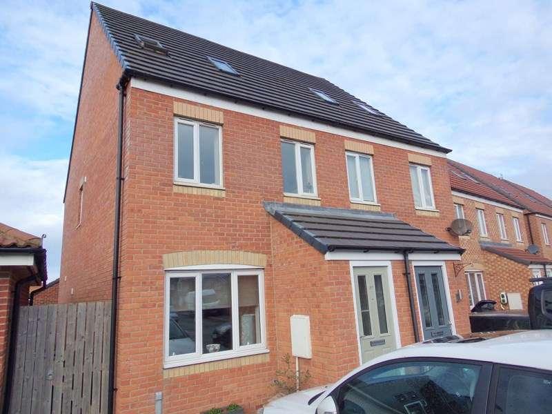 3 Bedrooms Property for sale in Rothbury Drive, Ashington, Northumberland, NE63 8TJ