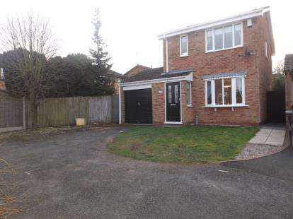 3 Bedrooms Detached House for sale in Chaffinch Drive, Kidderminster, Worcestershire
