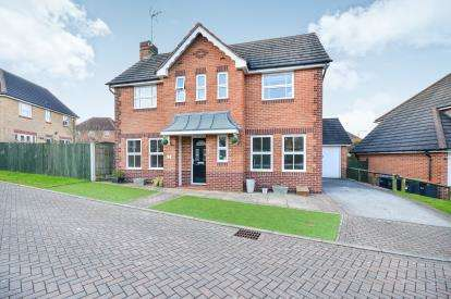 4 Bedrooms Detached House for sale in Chestnut Gardens, Sutton In Ashfield, Nottinghamshire, Notts