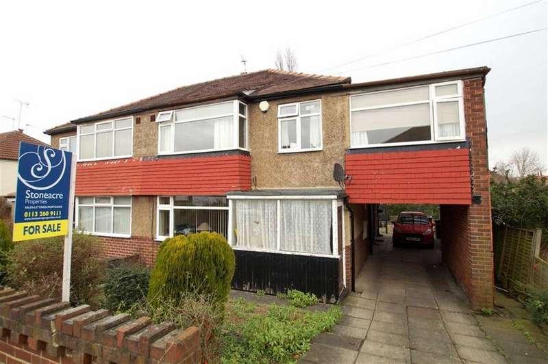 4 Bedrooms Semi Detached House for sale in Graveleythorpe Road, Leeds
