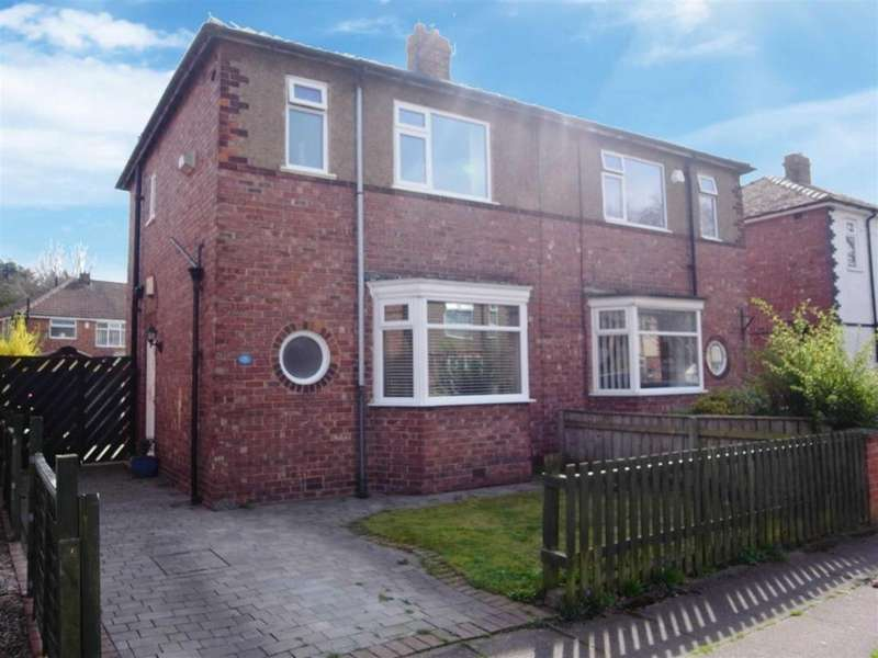 2 Bedrooms Semi Detached House for sale in Westgate Crescent, Darlington