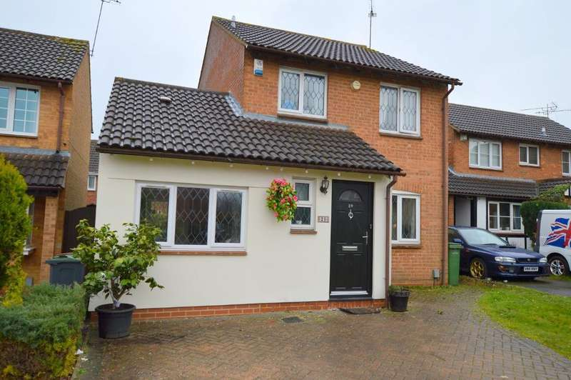 4 Bedrooms Detached House for sale in Morrell Close, Luton, LU3 3XB