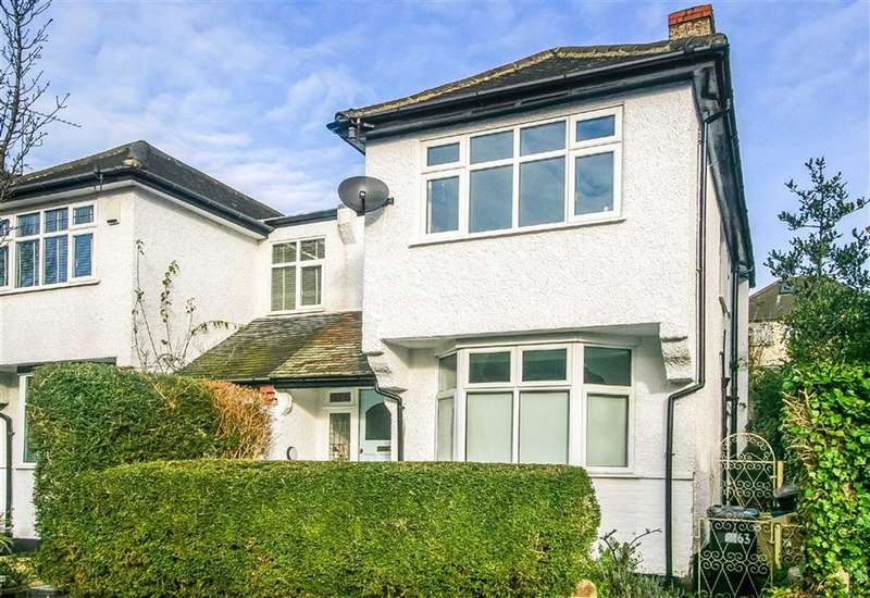 3 Bedrooms Semi Detached House for sale in Temple Road, South Croydon, Surrey