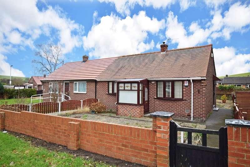 2 Bedrooms Semi Detached Bungalow for sale in Kirkthorpe Lane, Kirkthorpe, Wakefield
