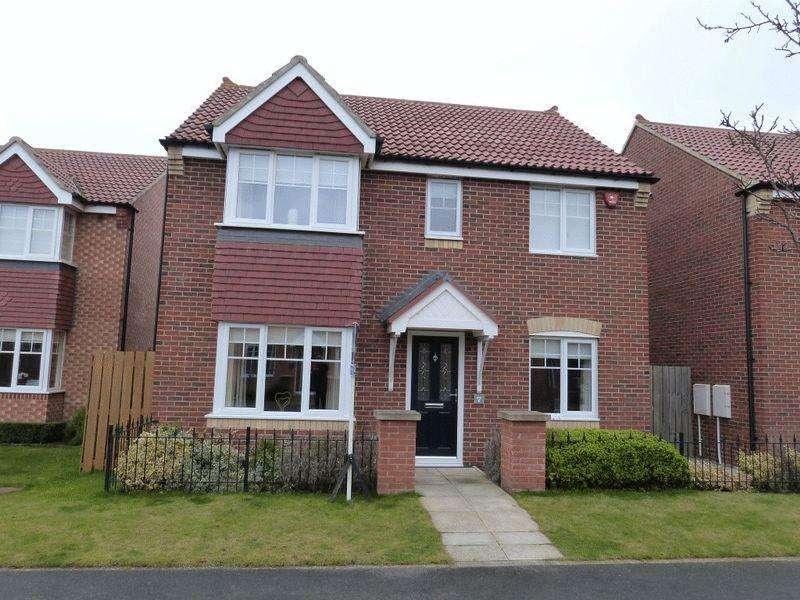 4 Bedrooms Detached House for sale in Embleton Walk, Ashington - Four Bedroom Detached House