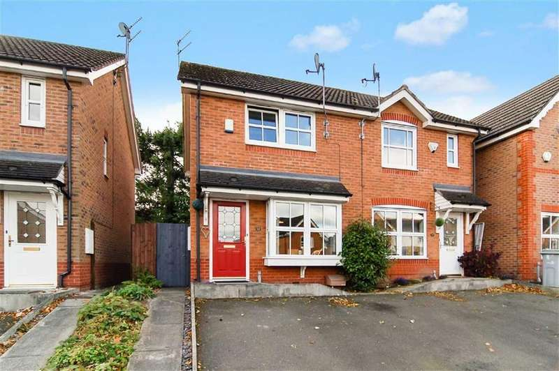 2 Bedrooms Semi Detached House for sale in Lower Meadow Drive, Congleton