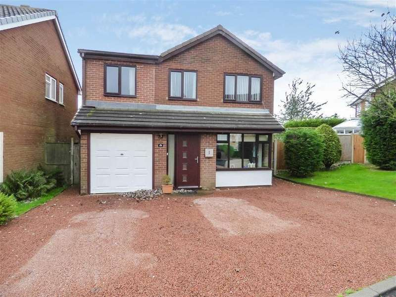 5 Bedrooms Detached House for sale in Bond Way, Cannock, Staffordshire