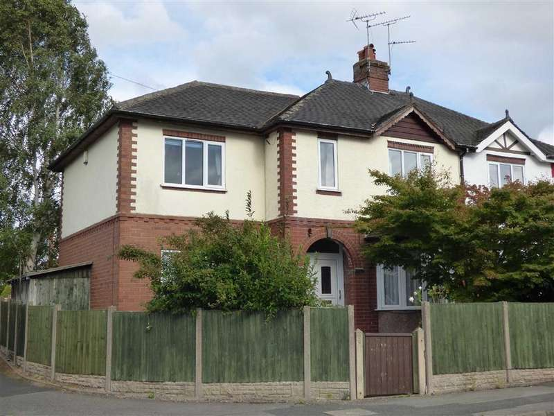 4 Bedrooms Semi Detached House for sale in Meadow Avenue, Cross Heath, Newcastle-under-Lyme