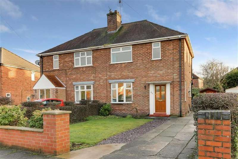 2 Bedrooms Semi Detached House for sale in Third Avenue, Sandbach