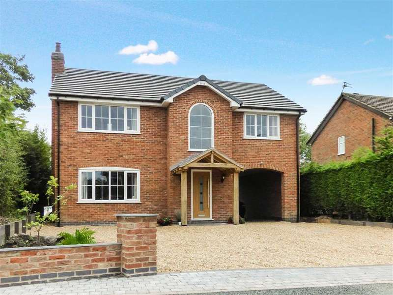 4 Bedrooms Detached House for sale in Sands Road, Harriseahead, Stoke-on-Trent
