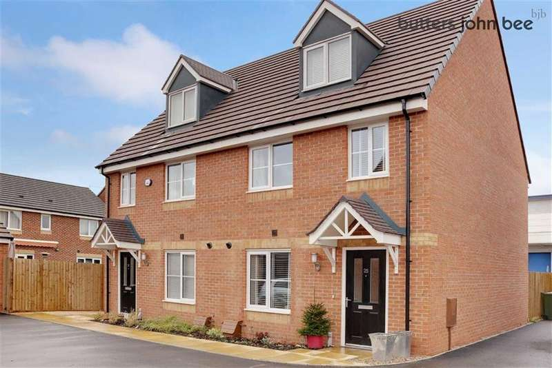 3 Bedrooms Semi Detached House for sale in Burchell Avenue, Stone, Staffordshire