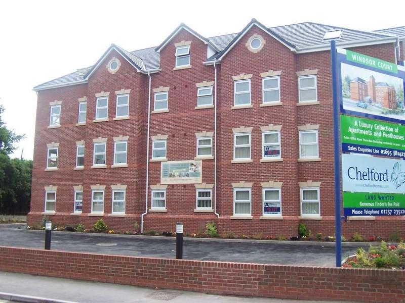 2 Bedrooms Flat for rent in Derby House, Derby Street, Ormskirk, Lancashire, L39 2DE