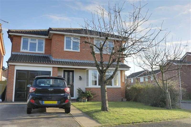 4 Bedrooms Detached House for sale in Jessop Way, Haslington, Crewe