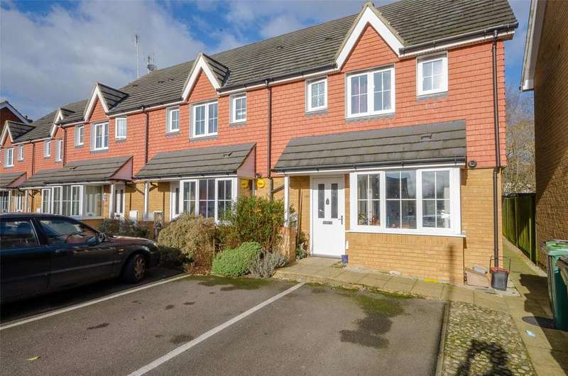 3 Bedrooms End Of Terrace House for sale in Roman Way, Maidstone, Kent, ME17