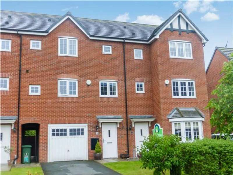 4 Bedrooms Town House for sale in Radcliffe Road, Winsford, Cheshire