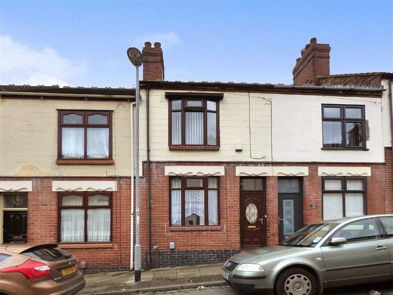 2 Bedrooms Terraced House for sale in Bradford Terrace, Birches Head, Stoke-on-Trent
