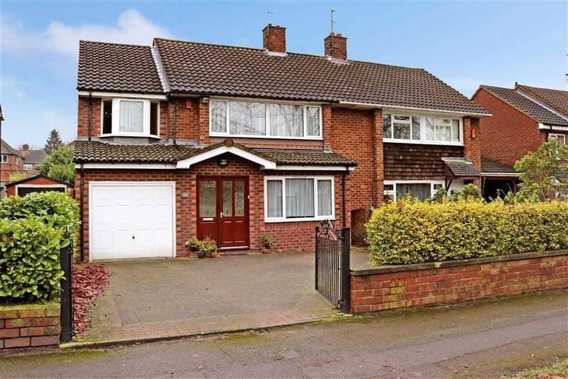 4 Bedrooms Semi Detached House for sale in Dartmouth Avenue, Westlands, Newcastle-under-Lyme