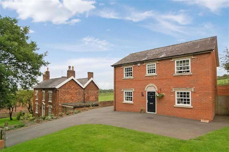 4 Bedrooms Detached House for sale in Spring Bank, Scholar Green