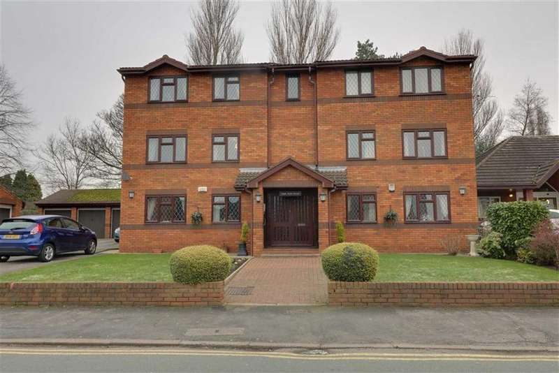 2 Bedrooms Flat for sale in Park View Court, Cannock, Staffordshire