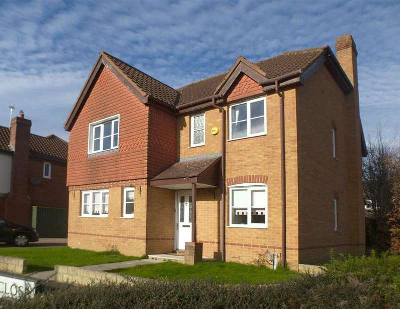 4 Bedrooms Detached House for rent in Tracy Close, Abbey Meads, Swindon. SN25 4YS.