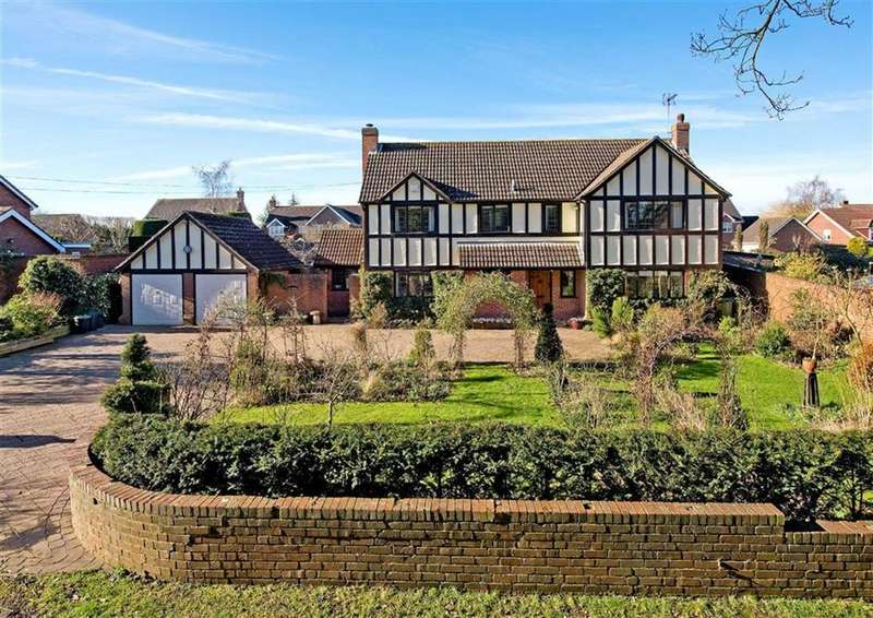 4 Bedrooms Detached House for sale in The Granary, Folley Road, Ackleton, Wolverhampton, Shropshire, WV6