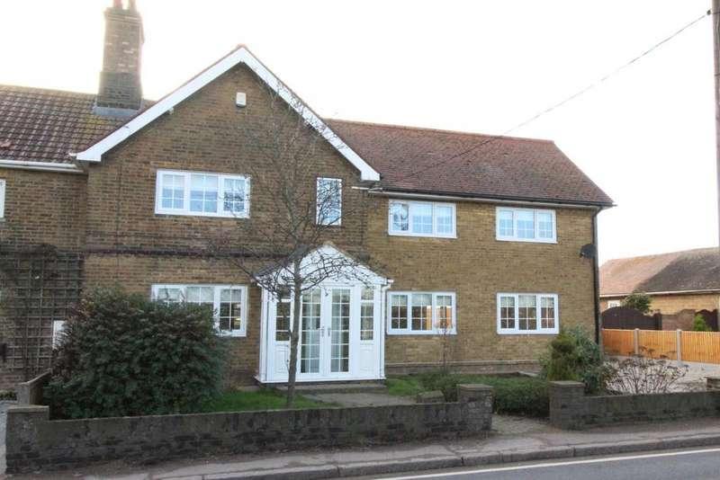 5 Bedrooms Semi Detached House for sale in Ockendon Road, North Ockendon, Upminster, Essex, RM14