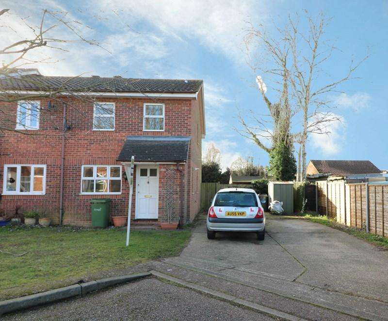 3 Bedrooms Town House for sale in Becketts Court, Wymondham