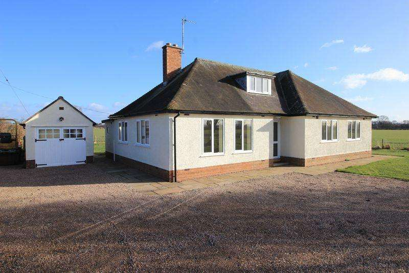 3 Bedrooms Bungalow for rent in Bryn Cottage, Maesbury Road, Oswestry