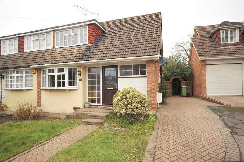 2 Bedrooms Semi Detached House for sale in Coleridge Walk, Hutton, Brentwood, Essex, CM13