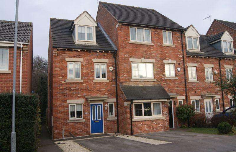 3 Bedrooms End Of Terrace House for sale in Burleigh Court, Tuxford