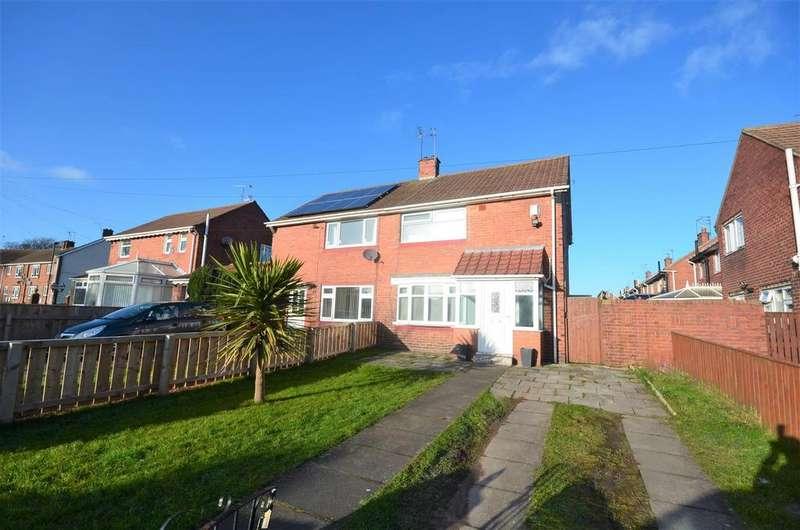 2 Bedrooms Semi Detached House for sale in Hollinside Road, Sunderland