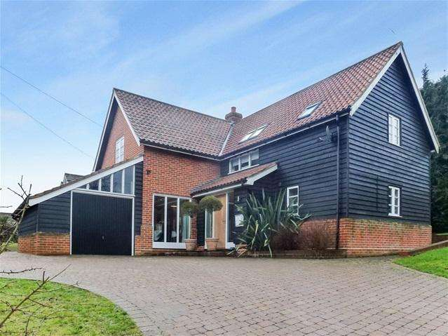 3 Bedrooms Detached House for sale in Byng Hall Road, Ufford, Woodbridge