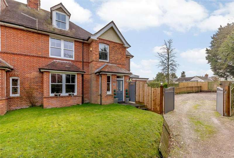 5 Bedrooms Semi Detached House for sale in Worting Road, Basingstoke, Hampshire, RG23