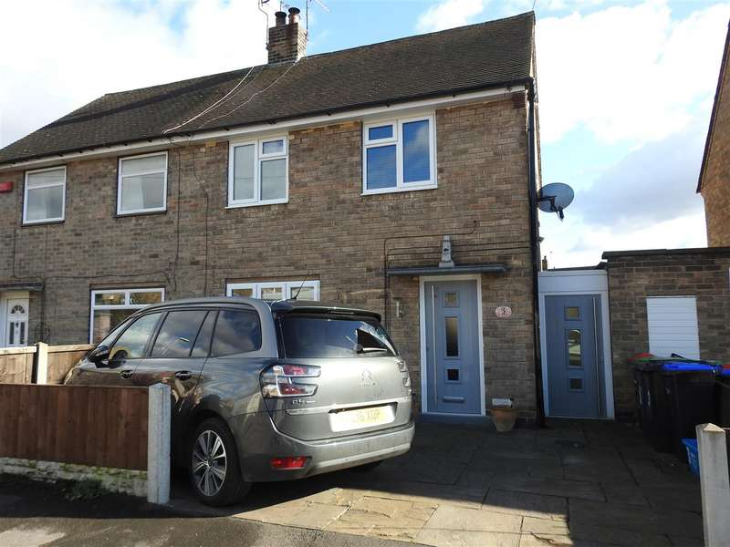 2 Bedrooms Semi Detached House for sale in Lilac Road, Hucknall, Nottingham