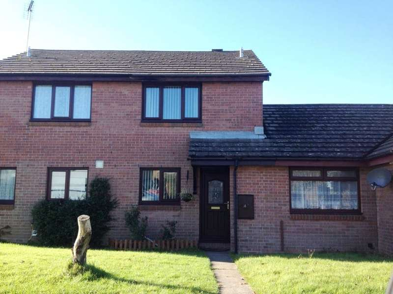 2 Bedrooms Terraced House for sale in Derwent Avenue, Steynton, Milford Haven