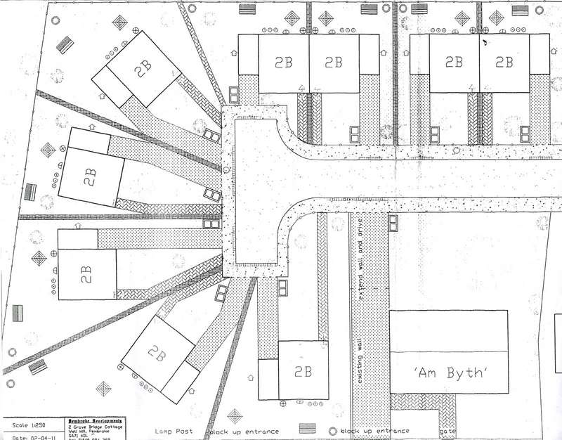Land Commercial for sale in 9 Plots Am-Byth, Long Mains, Monkton, Pembroke
