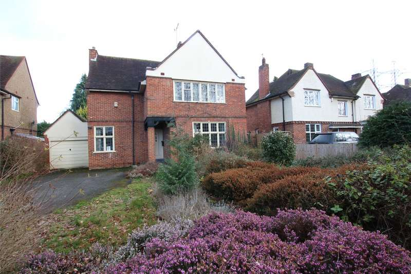 4 Bedrooms Detached House for sale in Byfleet Road, New Haw, Surrey, KT15