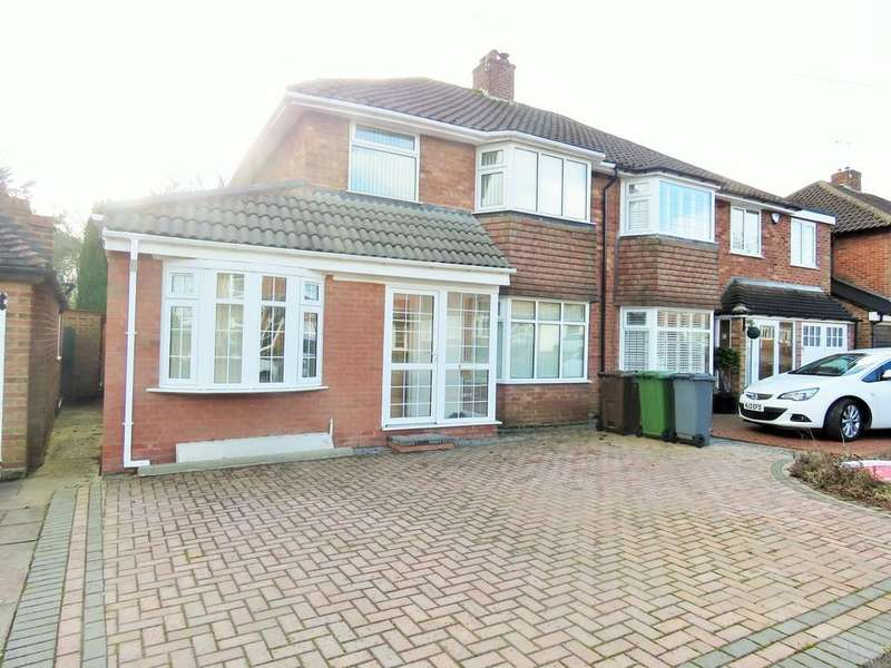4 Bedrooms Semi Detached House for sale in Henley Crescent, Solihull