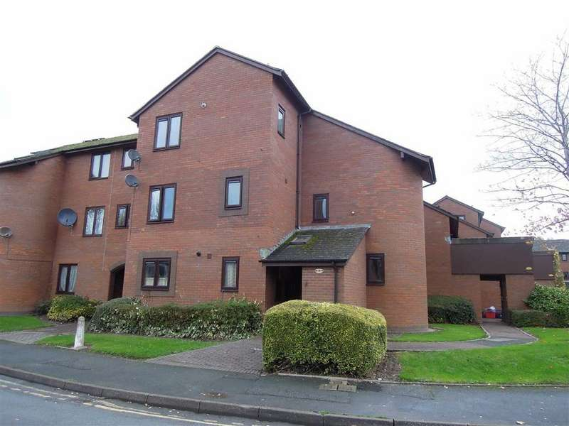2 Bedrooms Flat for rent in 51, St Marys Close, Newtown, Powys, SY16
