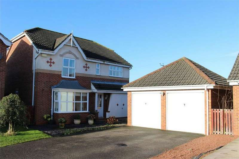 4 Bedrooms Detached House for sale in Ruffhams Close, Wheldrake, York
