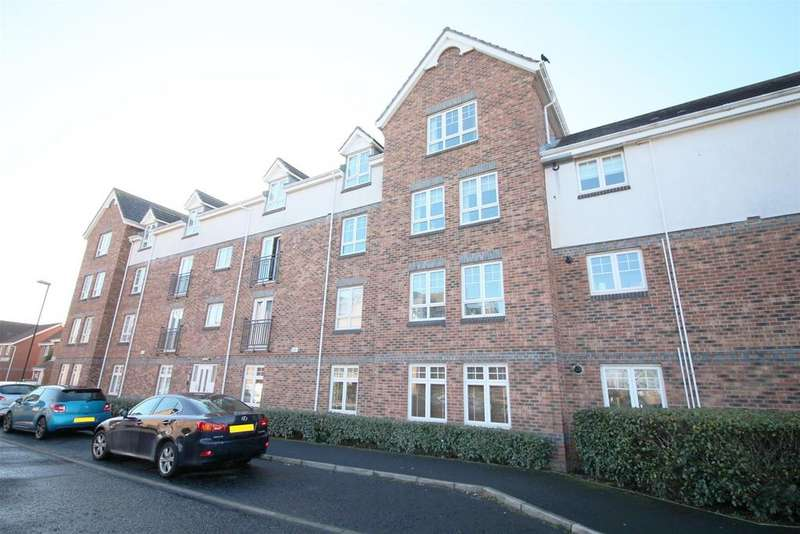 2 Bedrooms Apartment Flat for sale in Brabourne Gardens, North Shields