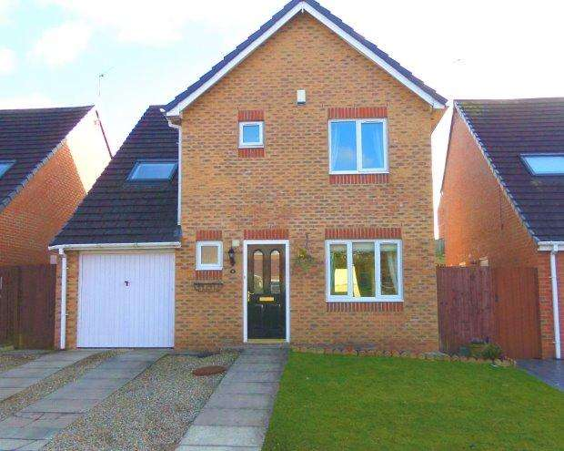 3 Bedrooms Detached House for sale in FOUNDRY MEWS, TRIMDON COLLIERY, SEDGEFIELD DISTRICT