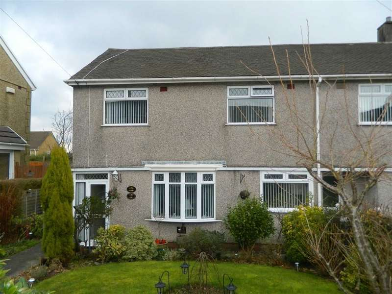 2 Bedrooms End Of Terrace House for sale in Pensalem Road, Penlan