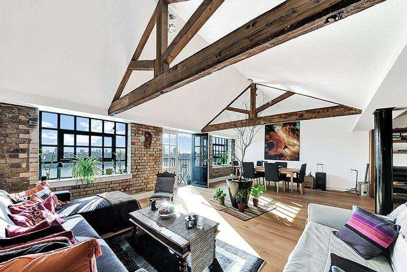 2 Bedrooms Penthouse Flat for sale in Merchant Court, 61 Wapping Wall, Wapping, London, E1W