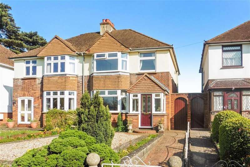 3 Bedrooms Semi Detached House for sale in New Hythe Lane, Larkfield, Kent