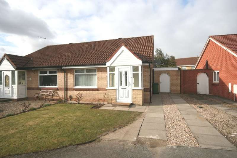 2 Bedrooms Semi Detached Bungalow for sale in Toddington Drive, The Glebe, Stockton-On-Tees, TS20