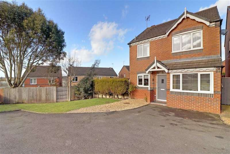 3 Bedrooms Detached House for sale in Deavall Way, Heath Hayes, Staffordshire