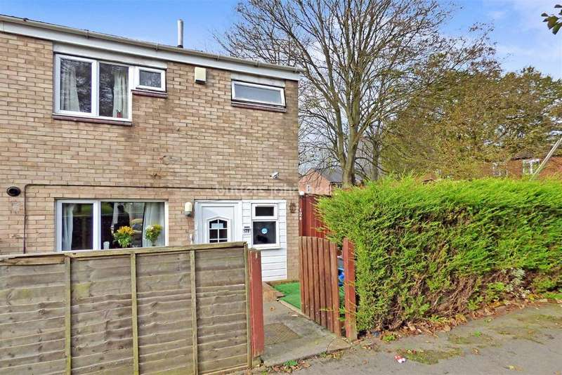 3 Bedrooms Semi Detached House for sale in Bishopdale, Brookside, Telford
