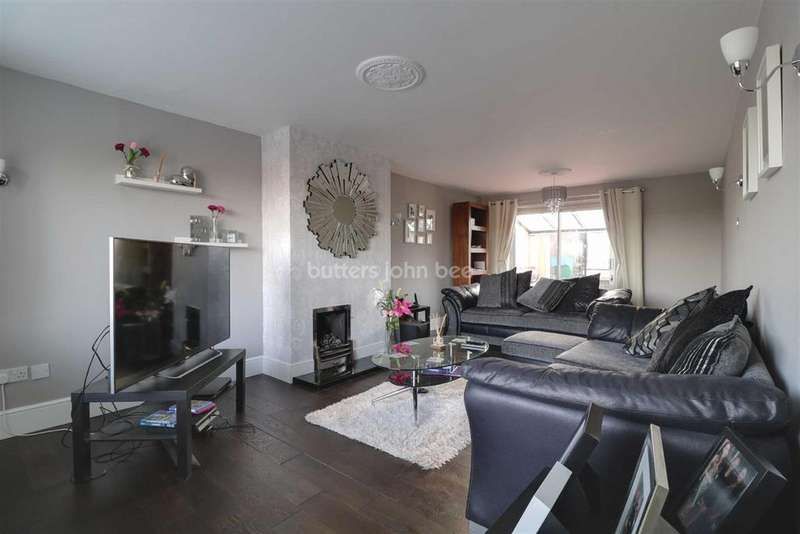4 Bedrooms Detached House for sale in Ludford Drive, Stirchley, Telford