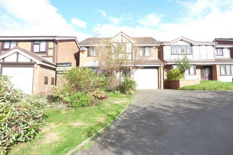 4 Bedrooms Detached House for sale in Buttercup Close, Telford